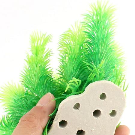Unique Bargains Aquarium Artificial Aquatic Grass Plant Decor Green - image 1 of 3