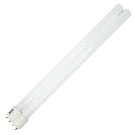 345058 - PL-L 24W/30-24 Watt Compact Fluorescent Linear Twin Tube Light Bulb, 3000K, Single Twin Tube bulb with a 2G11 base By Philips