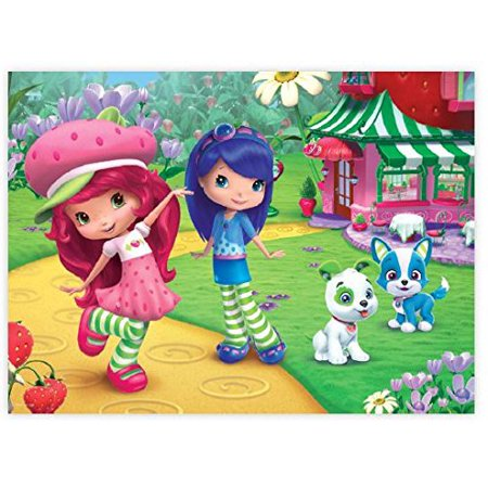 Puzzle - Ceaco - Strawberry Shortcake - Blueberry 60pc New (Strawberry Shortcake Puzzle)