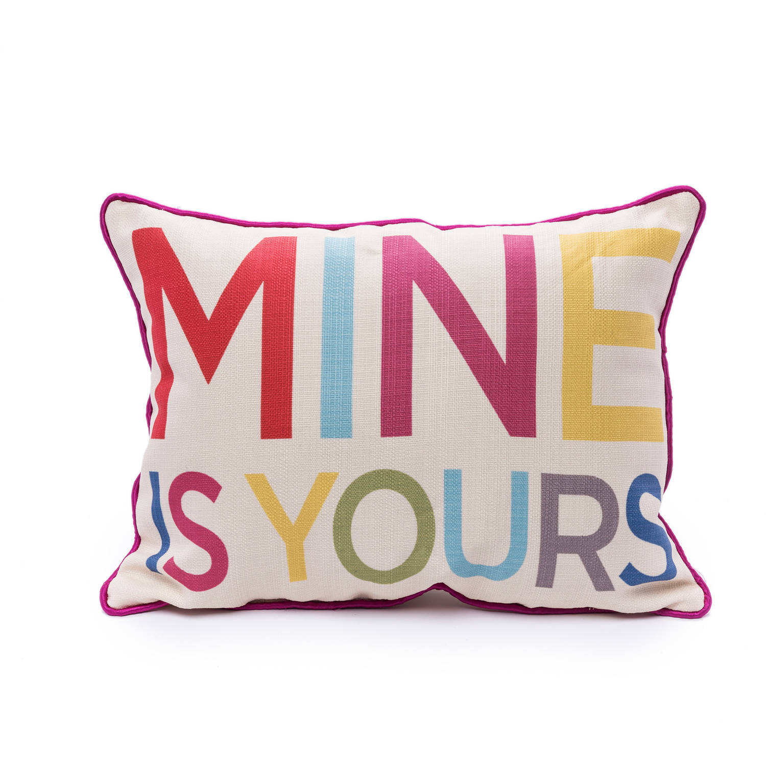 9 by Novogratz Mine is Yours Decorative Pillow
