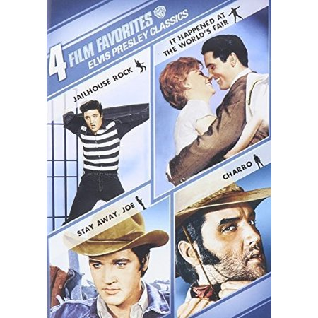 4 Film Favorites: Elvis Presley Classics (DVD) (Elvis Presley The Wonderful World Of Christmas)