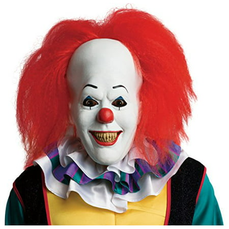 Rubie's Costume Men's It Pennywise Adult Mask, Multi, One Size](Penny Wise Mask)