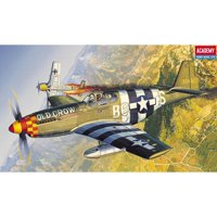 Academy 12464 North American P-51B Mustang 1/72 Scale Plastic Model Kit