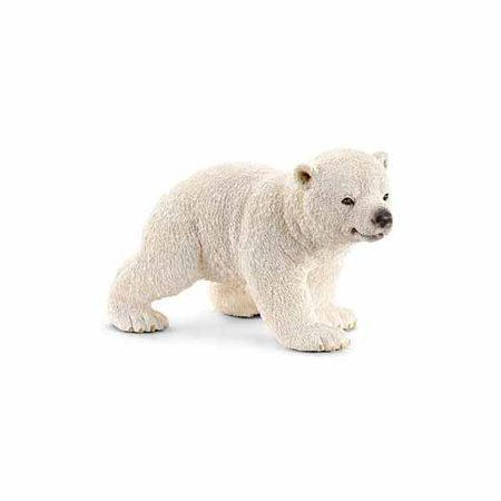 Polar Bear Patch - Schleich Polar Bear Cub, Walking