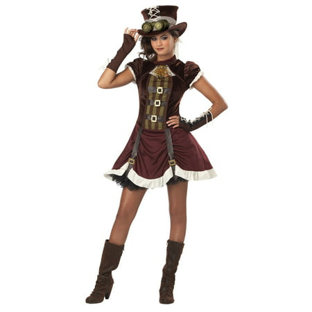 Tween Steampunk Girl Costume - 30s Costumes
