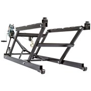 Black Ice SNO-1508-W Snowmobile Jack Body Lift with Dolly Wheels & Hand-Crank Winch