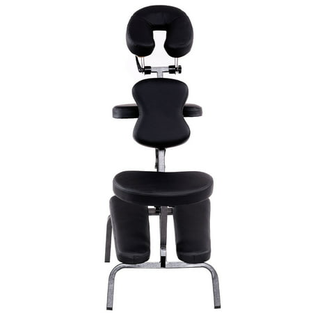 Gymax Portable Pad Travel Massage Tattoo Spa Chair PU Leather Portable Massage Chair Reviews
