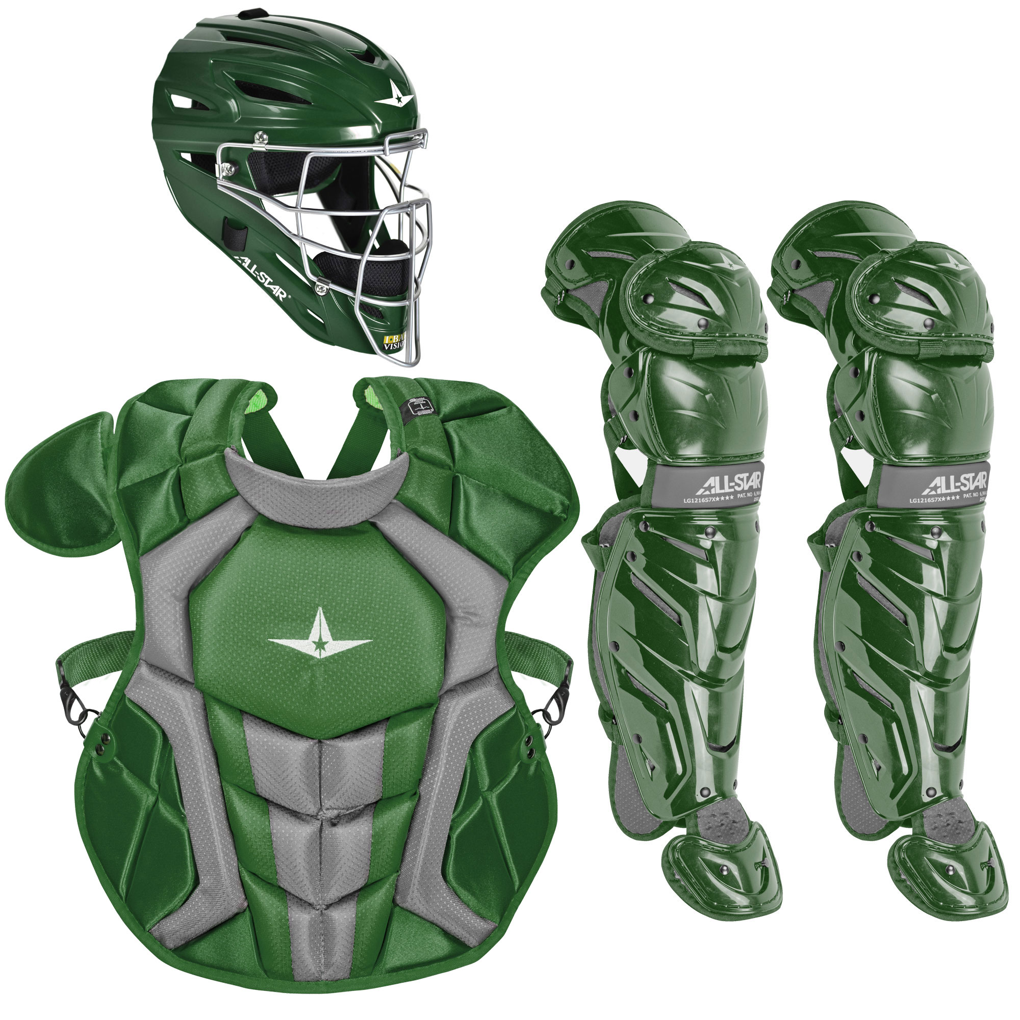 All-Star System7 Axis NOCSAE Intermediate Baseball Catcher's Package