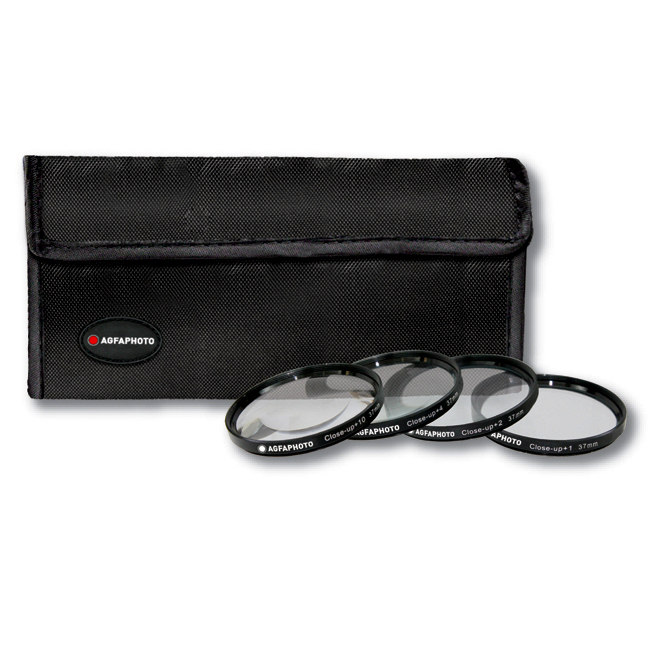 AGFA 4-Piece Close-Up Macro Filter Kit 58mm (+1+2+4+10) APCUF458 by Agfa