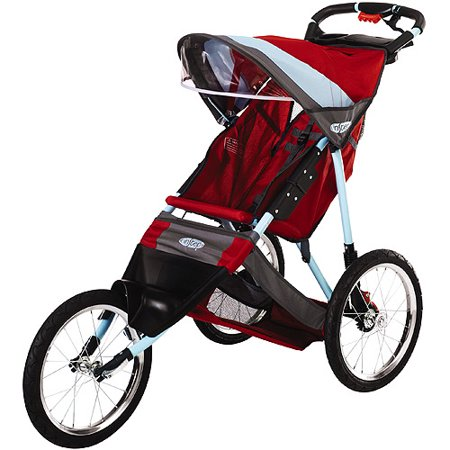 Instep Run Around Ltd Jogging Stroller Red And Teal