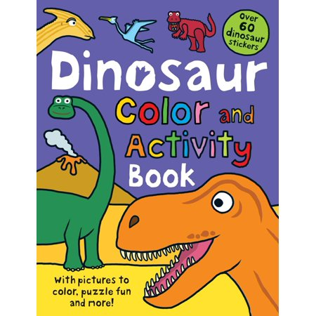 Camp Rock Activity Books (Dinosaur Color and Activity)
