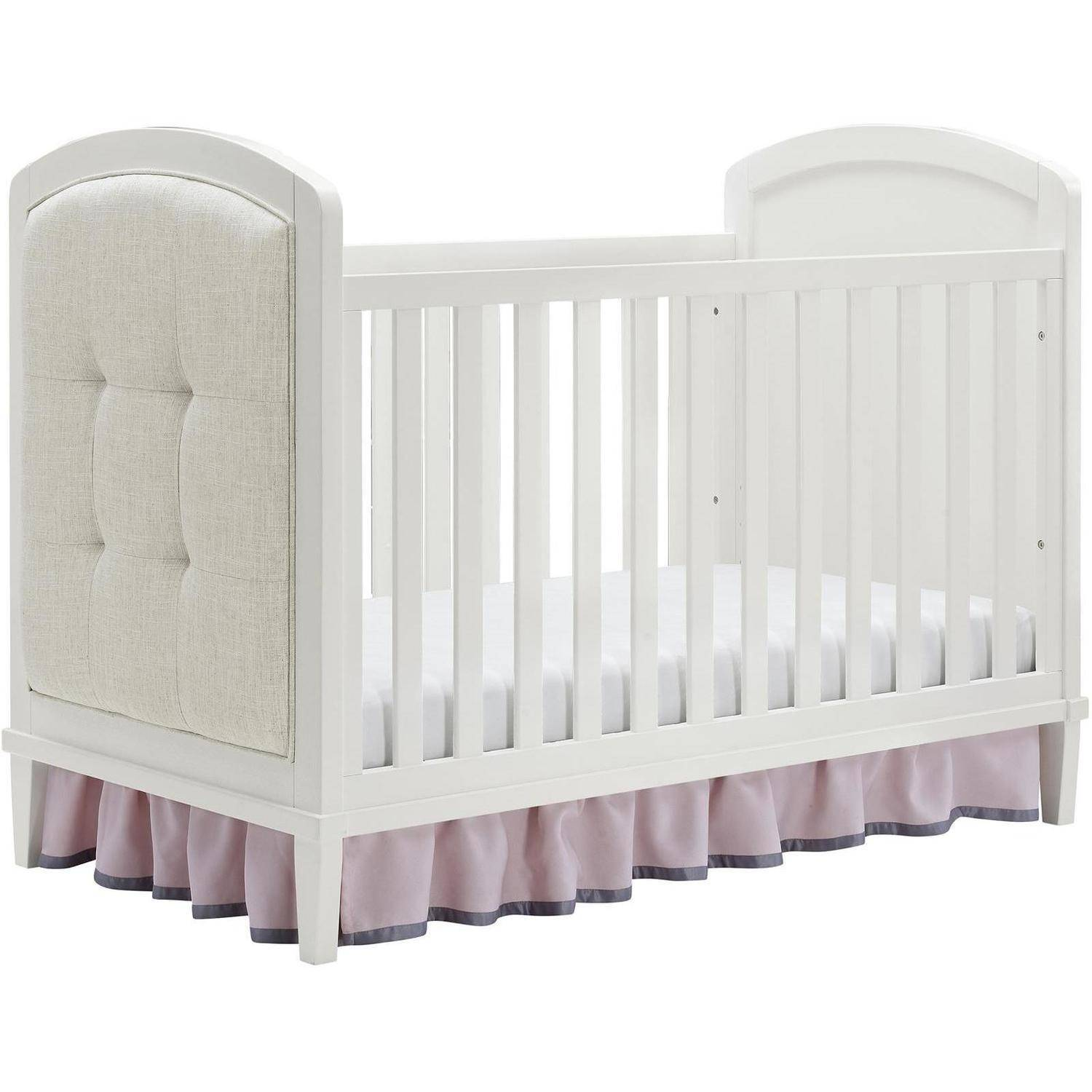Baby Relax Senna 3-in-1 Upholstered Crib White
