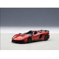 Lamborghini Aventador Roadster J Metallic Red 1/43 Diecast Model Car by Autoart