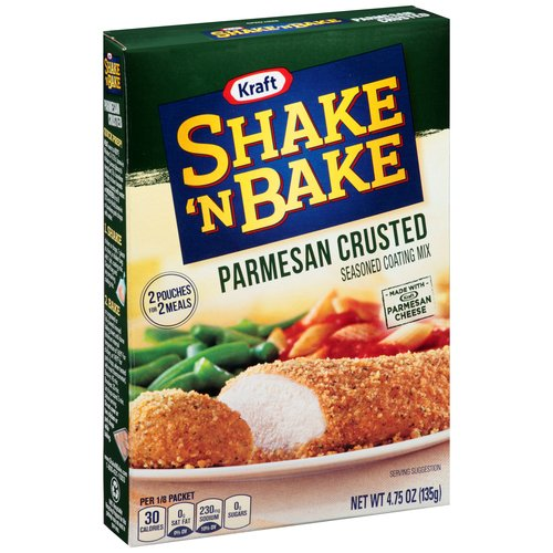 Kraft Shake 'n Bake Parmesan Crusted Seasoned Coating Mix, 4.75 oz