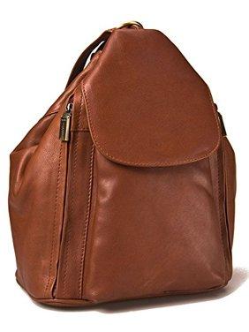 c11459f283 Visconti 18357 Medium Ladies Leather Backpack (Brown)