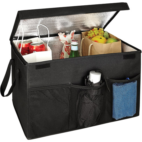 Simplify Trunk Organizer with Zippered Lid and Heat Insulation