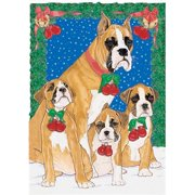 Pipsqueak Productions C821 Holiday Boxed Cards- Boxer