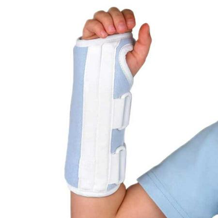 FLA Microban Wrist Splint-Pediatric-LFT-Youth-Blue