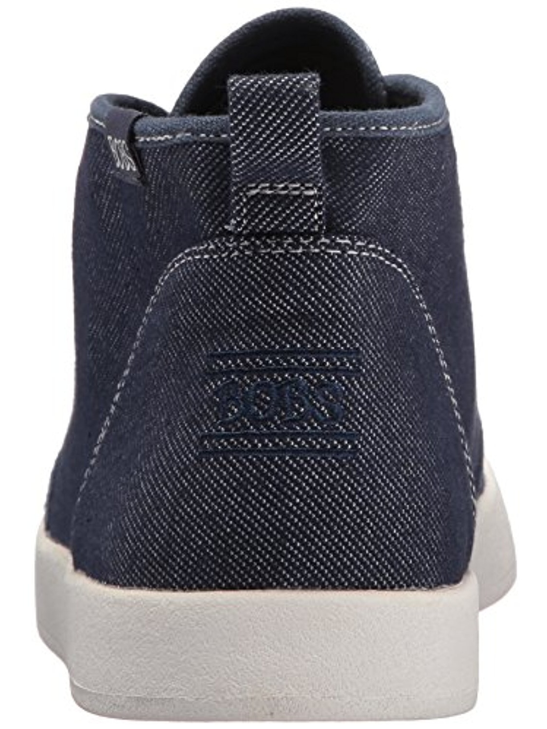 BOBS from Skechers Women's Bobs B-Loved-Fame Time Ankle Bootie, Denim, 7.5 M US