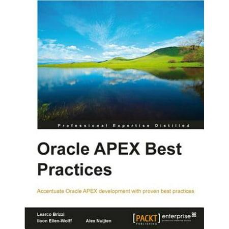 Oracle APEX Best Practices - eBook