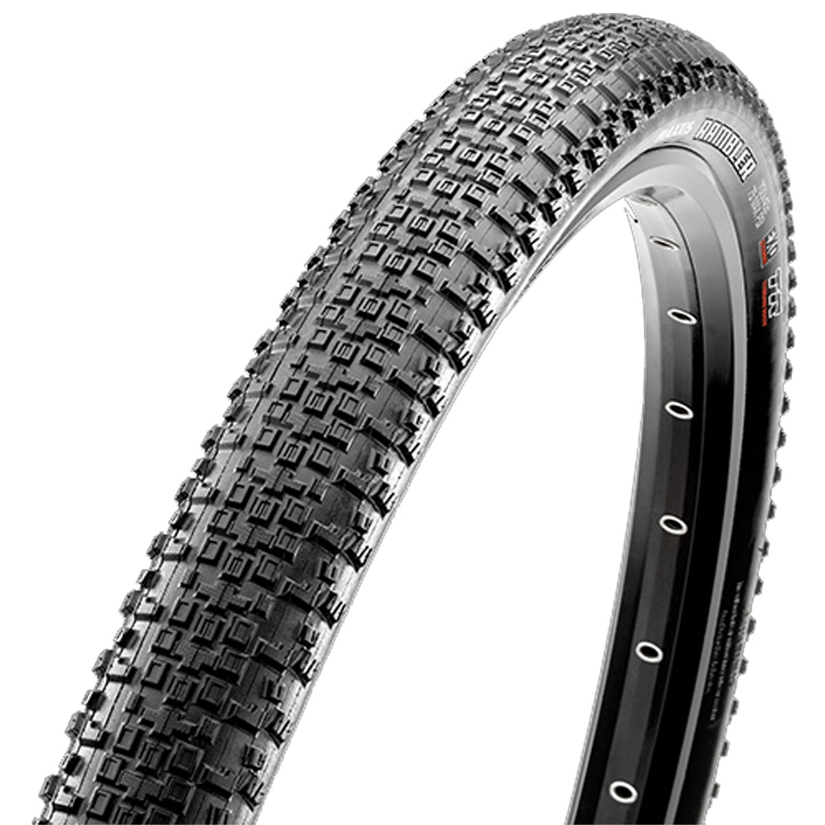 Maxxis Rambler Dual Compound SS Tubeless Ready Carbon Fiber Folding Bead 700c Knobby Bicycle Tire - TB96268100