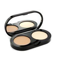 New Creamy Concealer Kit - Warm Beige Creamy Concealer + Pale Yellow Sheer Finish Pressed Powder-3.1