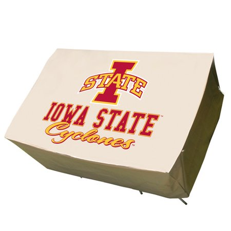 NCAA Mr. Bar-B-Q Rectangle Patio Table Cover, Iowa State Cyclones ()
