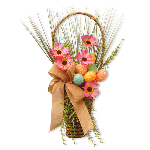 "23"" Easter Wall Basket by National Tree"