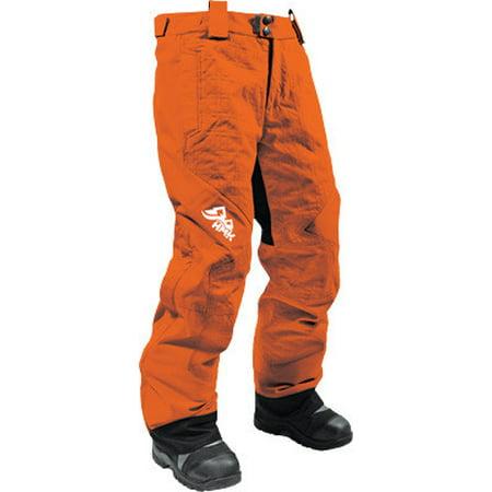 HMK Dakota Womens Snowmobile Pants Orange (Womens Snowmobile Pants)