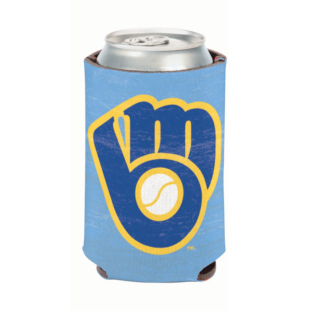 Milwaukee Brewers WinCraft Cooperstown Collection Can Cooler - No Size