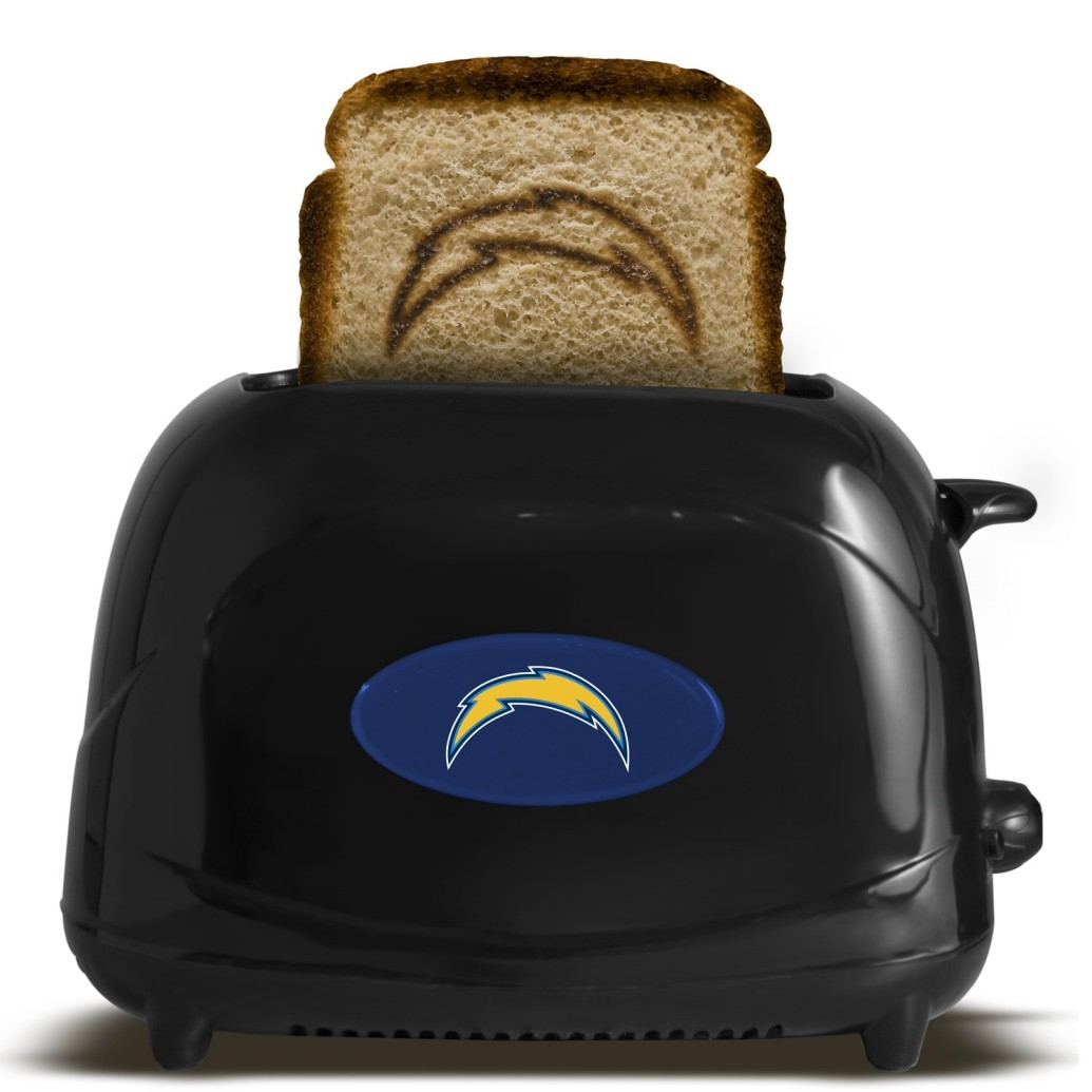 San Diego Chargers Toaster - Black