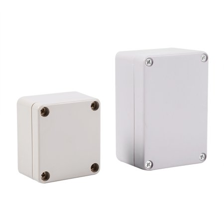 WALFRONT 1pc Waterproof Junction Boxes Connection Outdoor Waterproof Enclosure, Connection Box, Electrical -