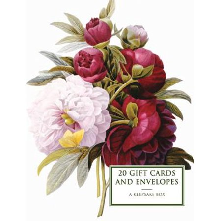 Tin Box of 20 Gift Cards and Envelopes: Peony : A Keepsake Tin Box Featuring 20 High-Quality Fine-Art Gift Cards and Envelopes