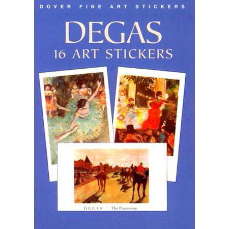 Degas : 16 Art Stickers