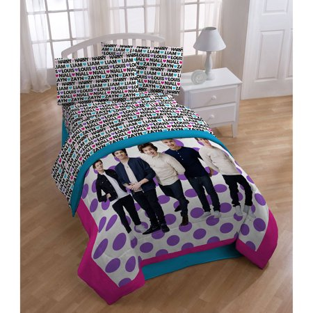 One Direction Sheet Set  Black