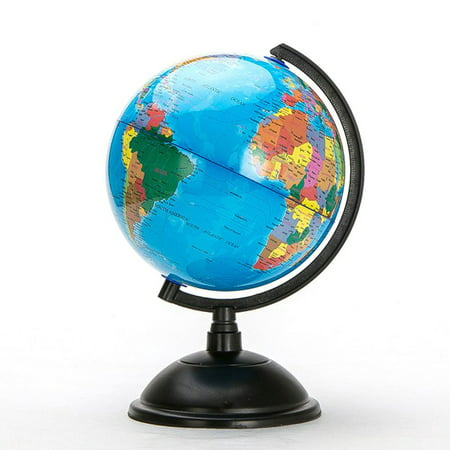 20cm Blue Ocean World Globe Map With Swivel Stand Geography Educational - image 3 de 7