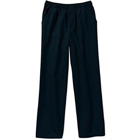 365 Kids From Garanimals Boys' Solid Woven Pants Sizes 4-8 (5, Black)