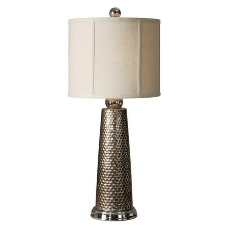 Uttermost Nenana Table Lamp - 27.5 in. Nickel