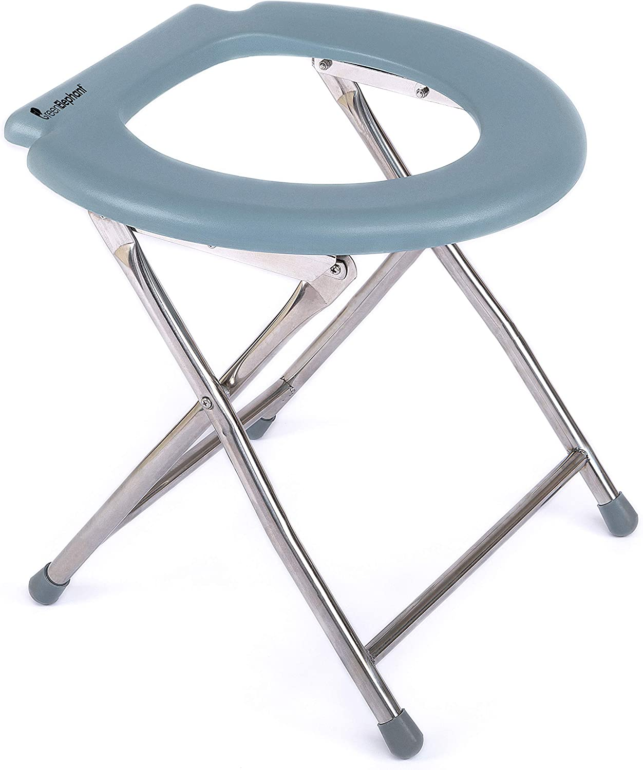 Green Elephant Folding Commode Portable Toilet Seat - Porta Potty and Commode Chair - Comfort Chair Perfect for Camping, Hiking, Trips, Construction Sites, and More - Walmart.com - Walmart.com
