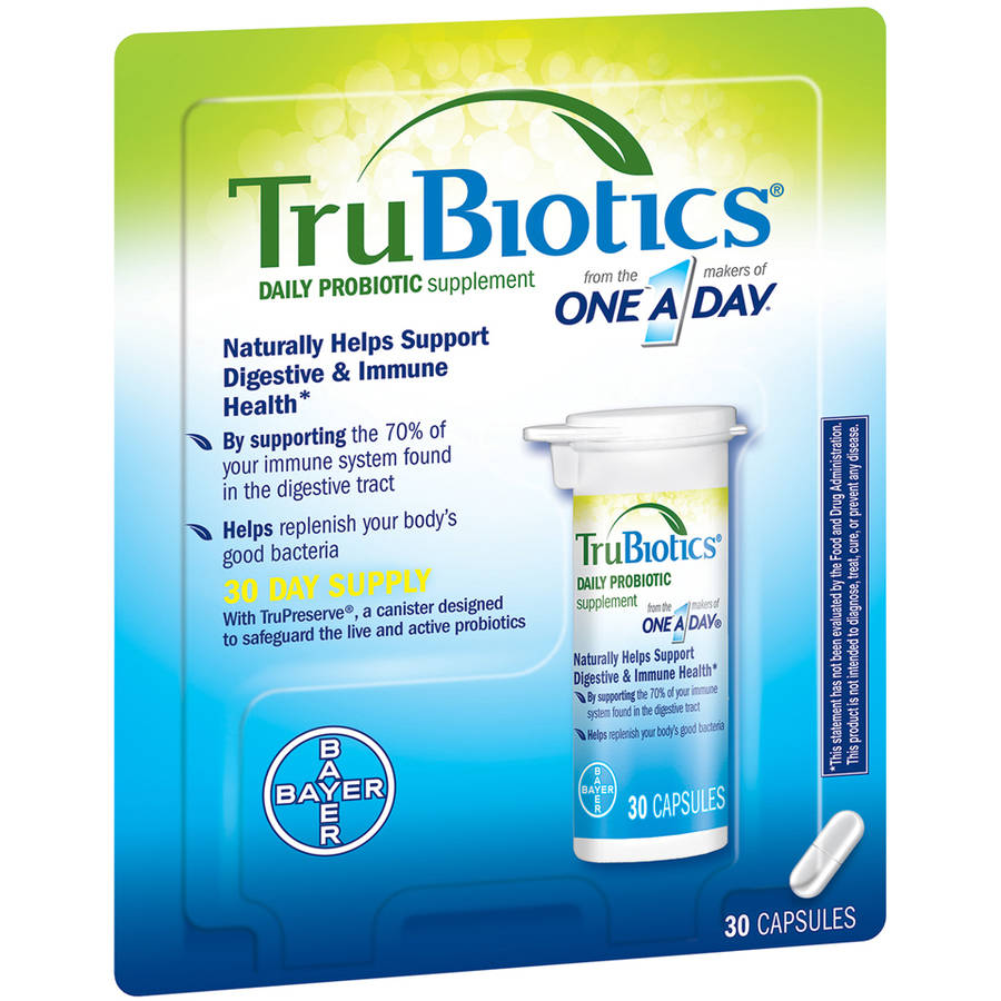 One a Day TruBiotics Daily Probiotic Supplement, 30 count