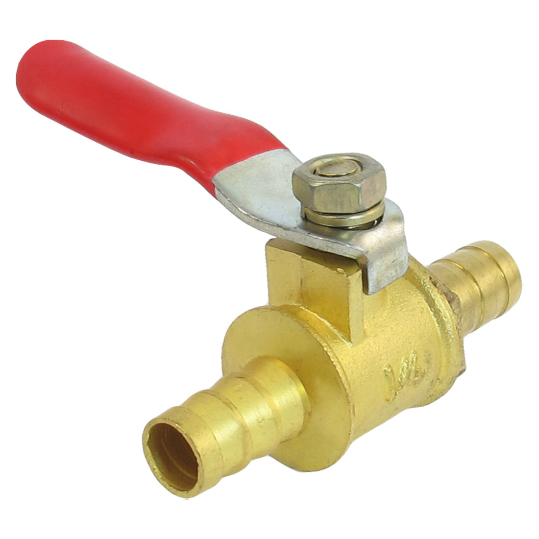 Pipe Fitting Connector 8mm Barb Hose Lever Handle Ball Valve