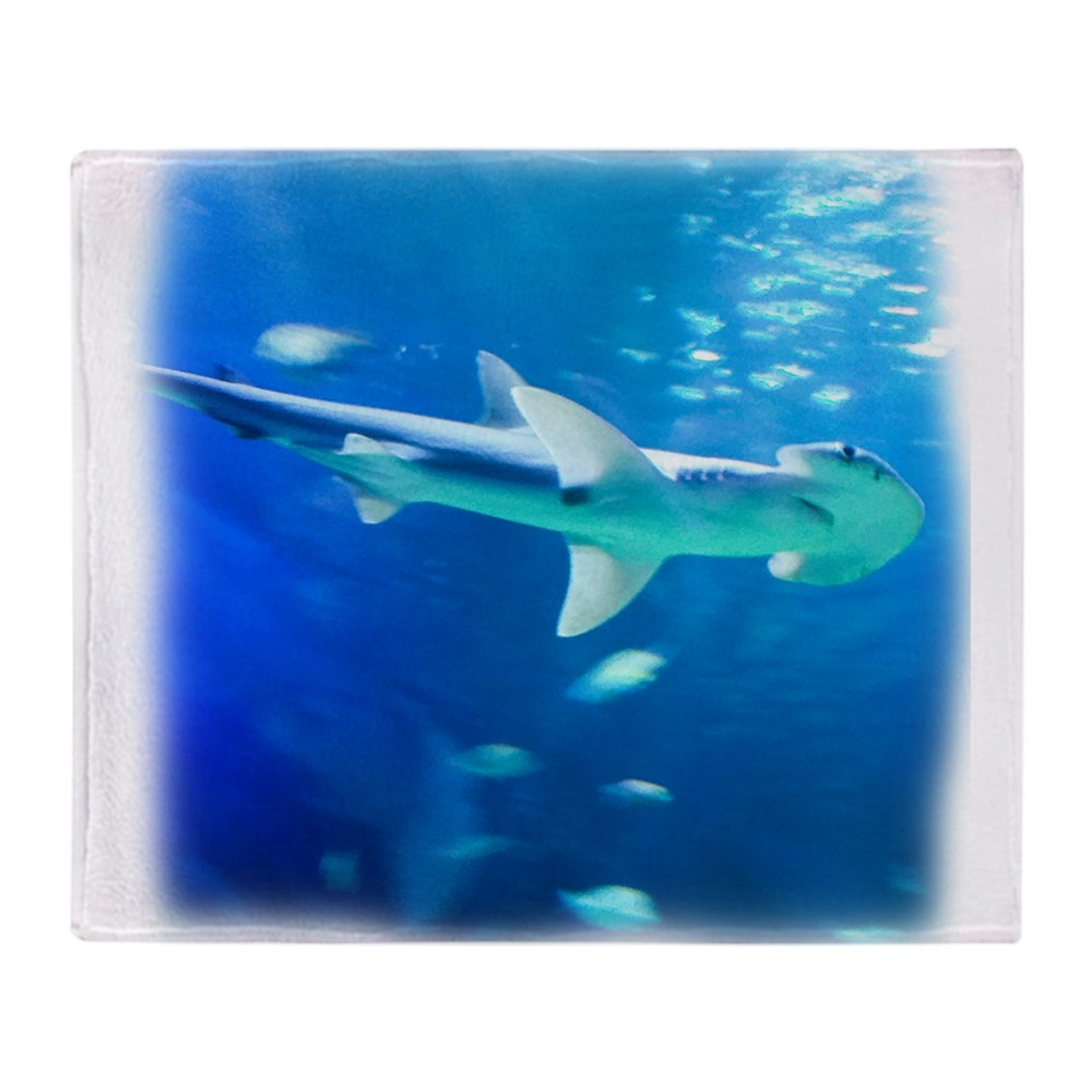 "CafePress Hammerhead Shark Soft Fleece Throw Blanket, 50""x60"" Stadium Blanket by"