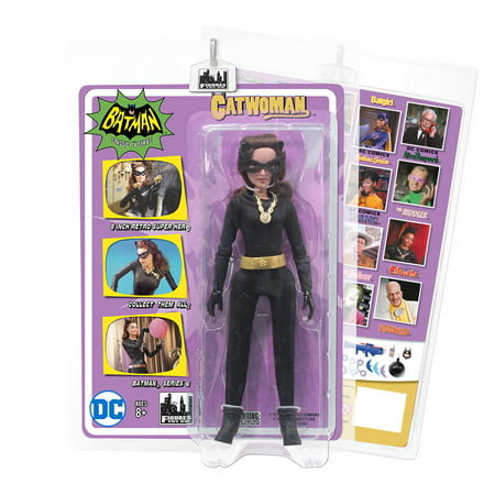 Batman Classic 1966 TV Series Action Figures Series 6: Catwoman - Catwoman Batman