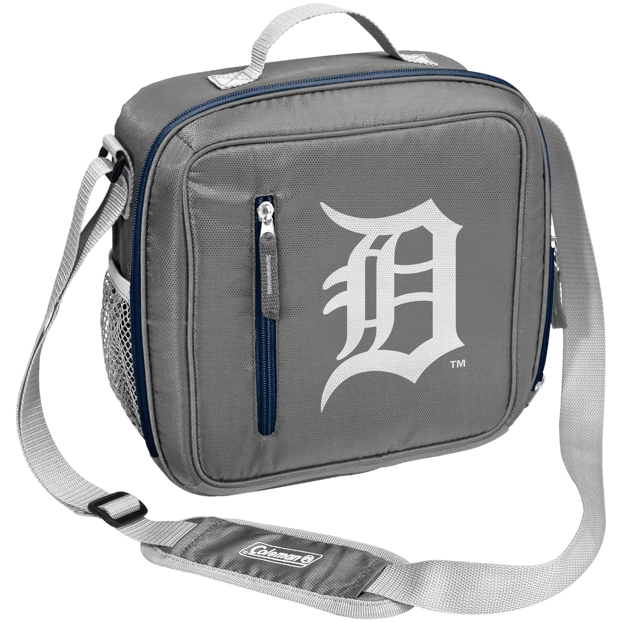Detroit Tigers Coleman Team Logo Messenger Cooler - No Size