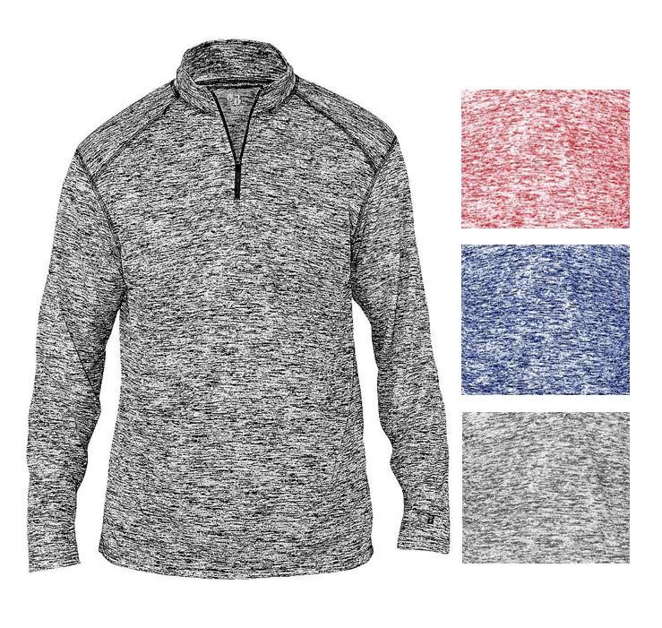 Men's Quarter 1/4 Zip Pullover Shirt