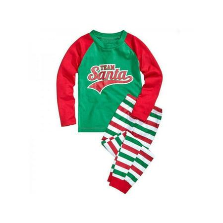 5c460b60f7 Ropalia - Ropalia Family Matching Christmas Pajamas Set Mum Dad Kids Elf  Sleepwear - Walmart.com