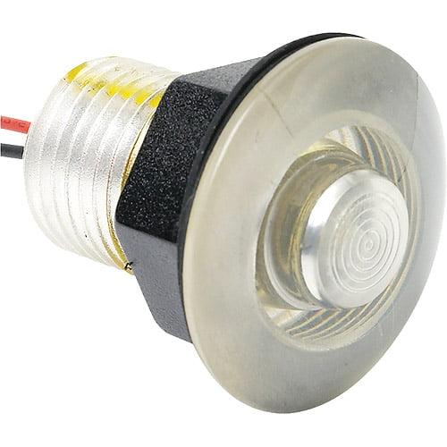Attwood LED Livewell and Bulkhead Light, Amber