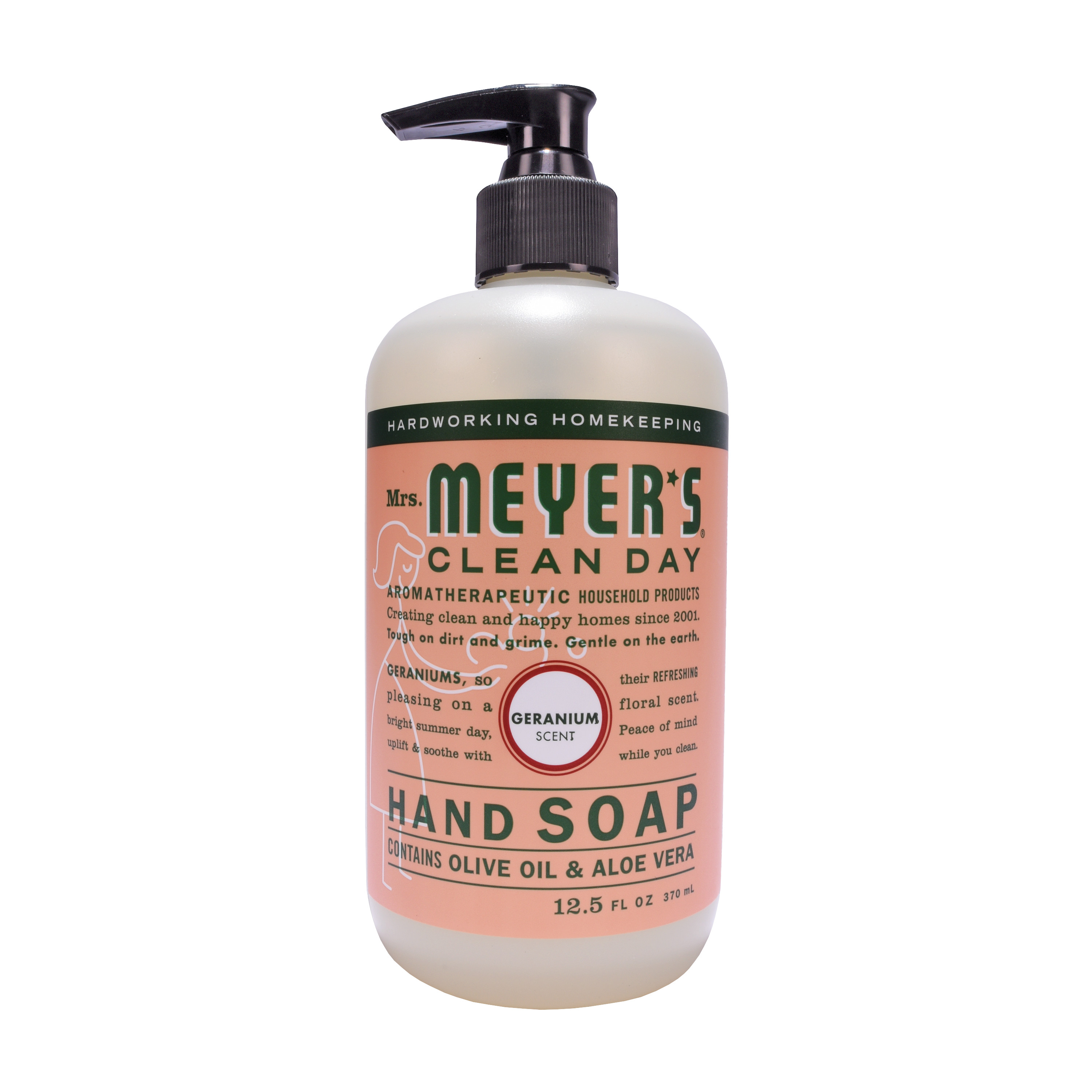 Mrs. Meyer´s Clean Day Hand Soap, Geranium, 12.5 Fluid Ounces