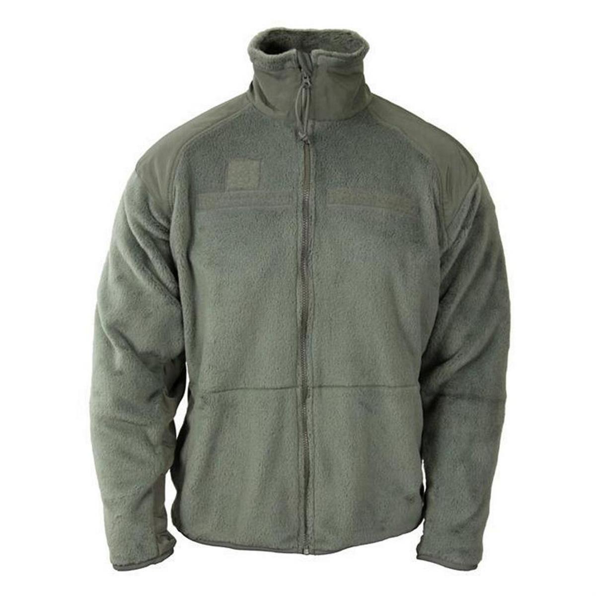 Genuine Military Gen III Level 3 ECWCS Medium Long Fleece Jacket Foilage by DSCP