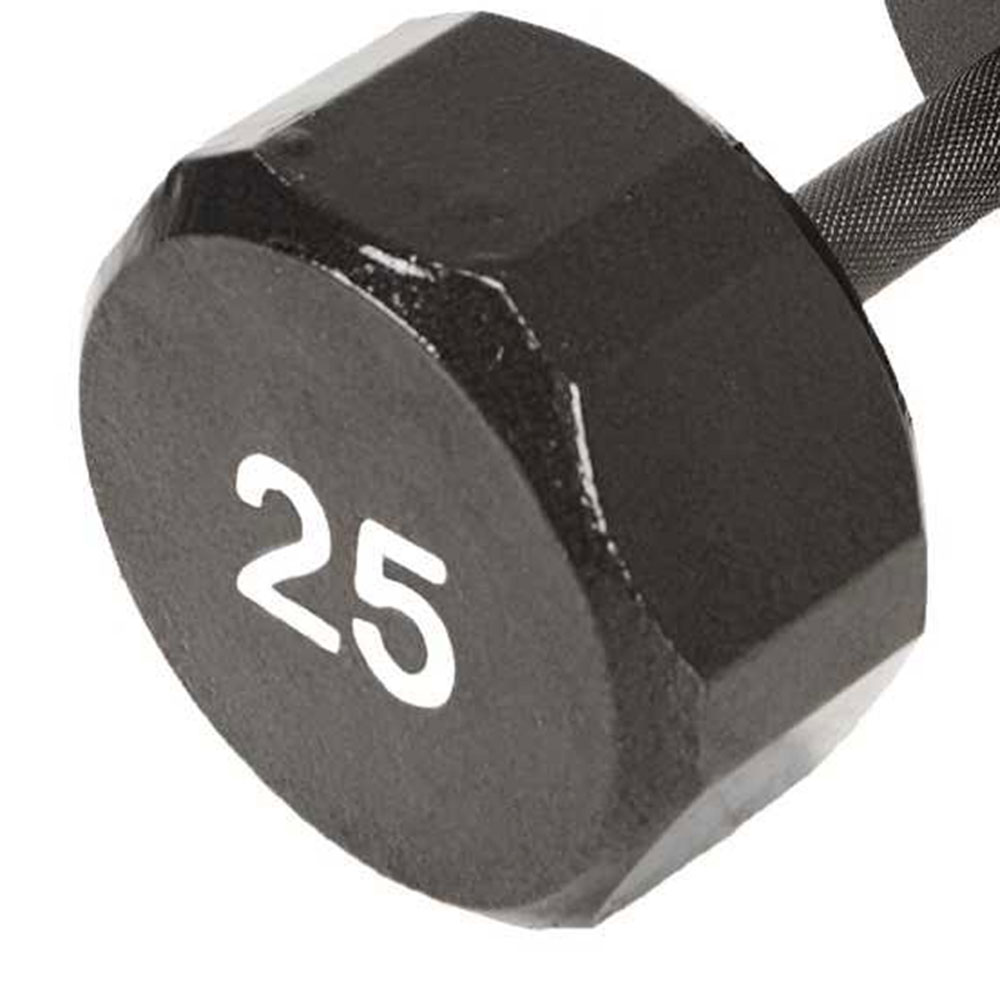 Details about Marcy Pro TSA 25 Pound Eco Iron Hex Home Gym Workout Dumbbell  Weight (2 Pack)